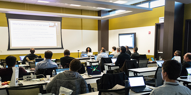 ALCF hosts Cray Urika-GX workshop