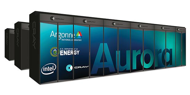 Aurora exascale supercomputer