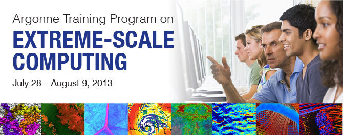 Argonne Training Program on Extreme-Scale Computing