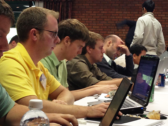 Students at ATPESC