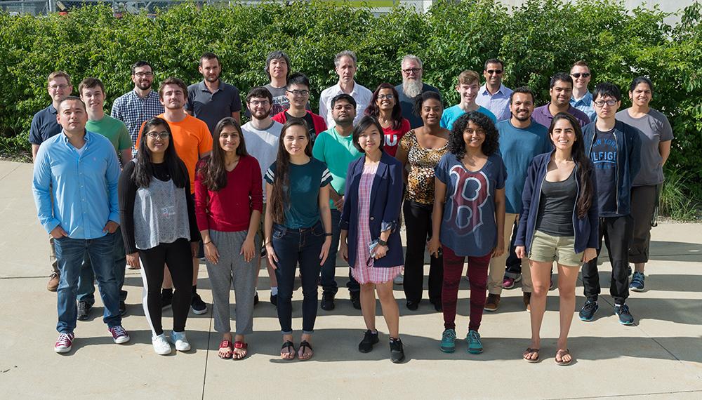 ALCF summer students and mentors