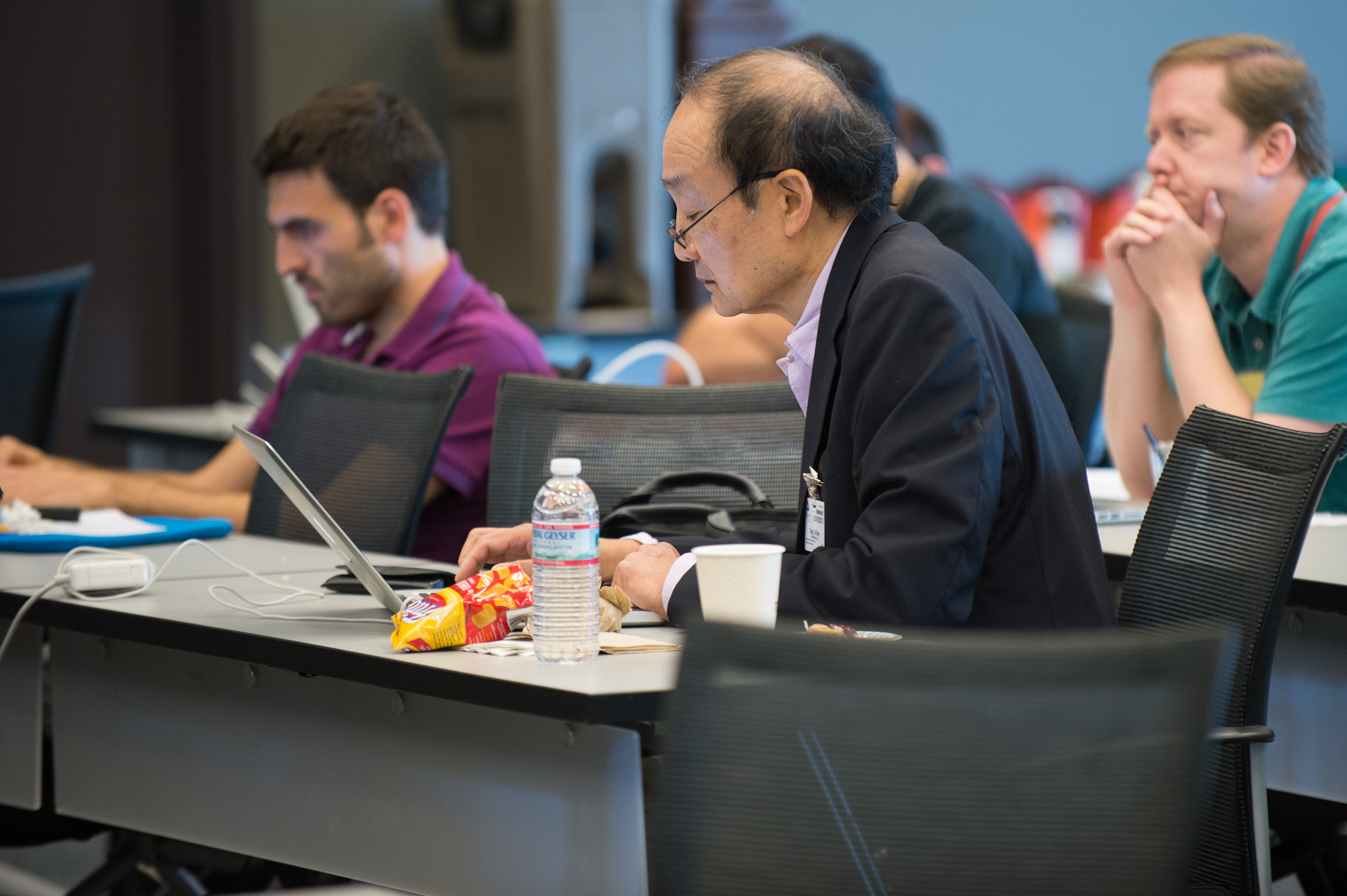 Researchers at the ESP meeting