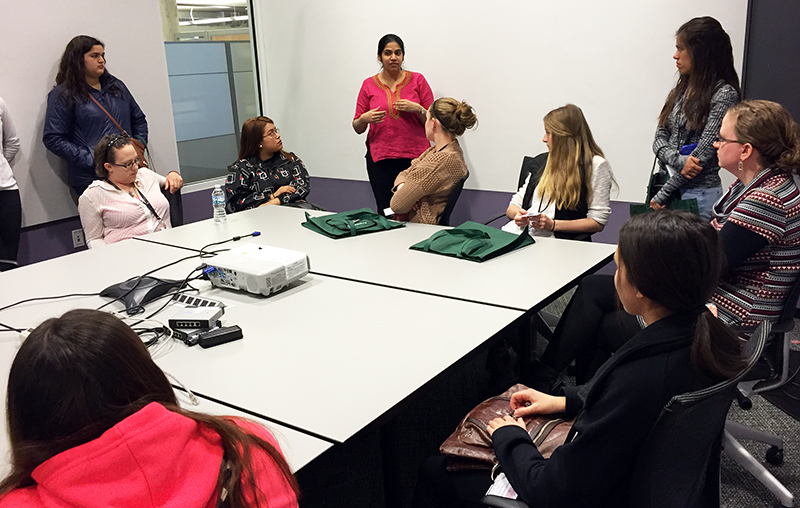ALCF leads panel discussion for SCSW students