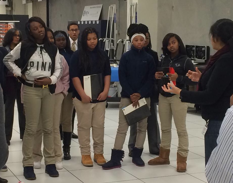 City of Chicago Students visit Argonne for a My Brother's Keeper event.