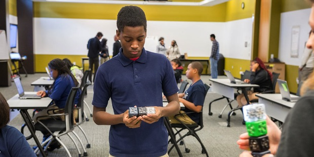 Inspiring the Next Generation of Computational Thinkers: Argonne hosted a My Brother's Keeper Event for City of Chicago Students.