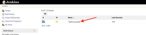 CI folders screenshot