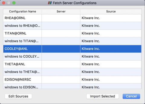 Fetch ParaView Servers: Cooley