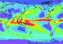 Climate-Weather Modeling Studies Using a Prototype Global Cloud-System Resolving Model