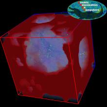 Numerical model of cosmic reionization