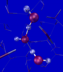 PI-AIMD simulation of solvated hydroxide ion
