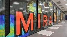ALCF's Mira supercomputer