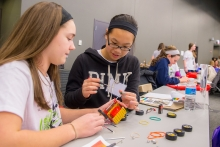 Argonne's Introduce a Girl to Engineering Day