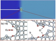 Stress-corrosion cracking in silicates
