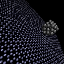 Researchers at Argonne, Purdue, and Oak Ridge are studying the properties of catalytic nanoparticles on graphene supports using Quantum Monte Carlo methods.
