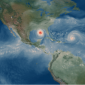 a Category 5 hurricane simulated by the CESM at 13 km resolution