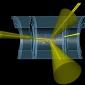 Simulation of a vector boson plus jet event