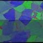 Plastic deformation of a shock-compressed Ta