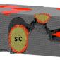 An image of a self-healing ceramic nanocomposite