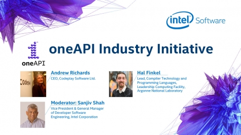 ISC Intel fireside chat on oneAPI