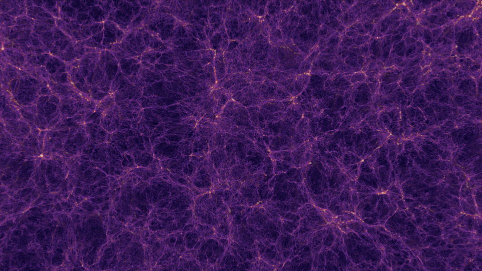 Distribution of matter in the universe