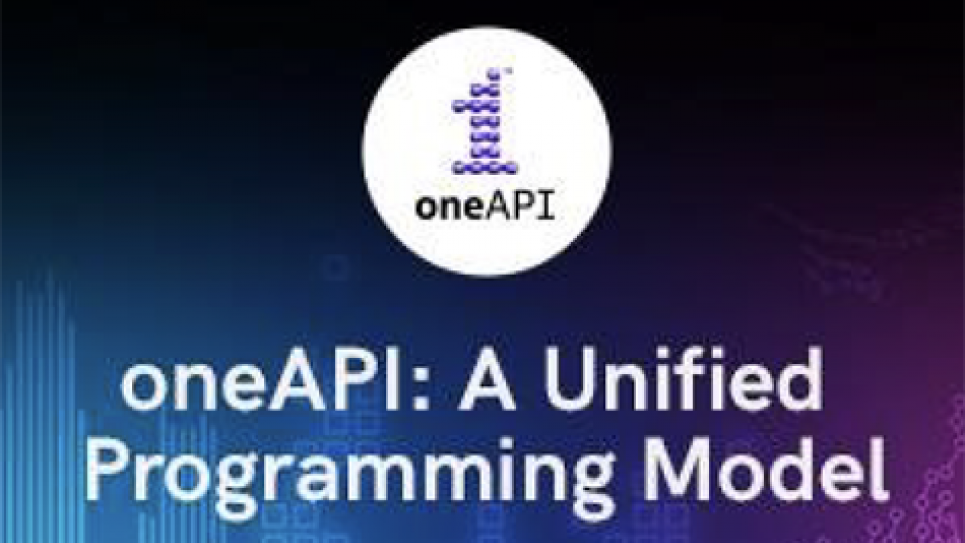 Intel's oneAPI