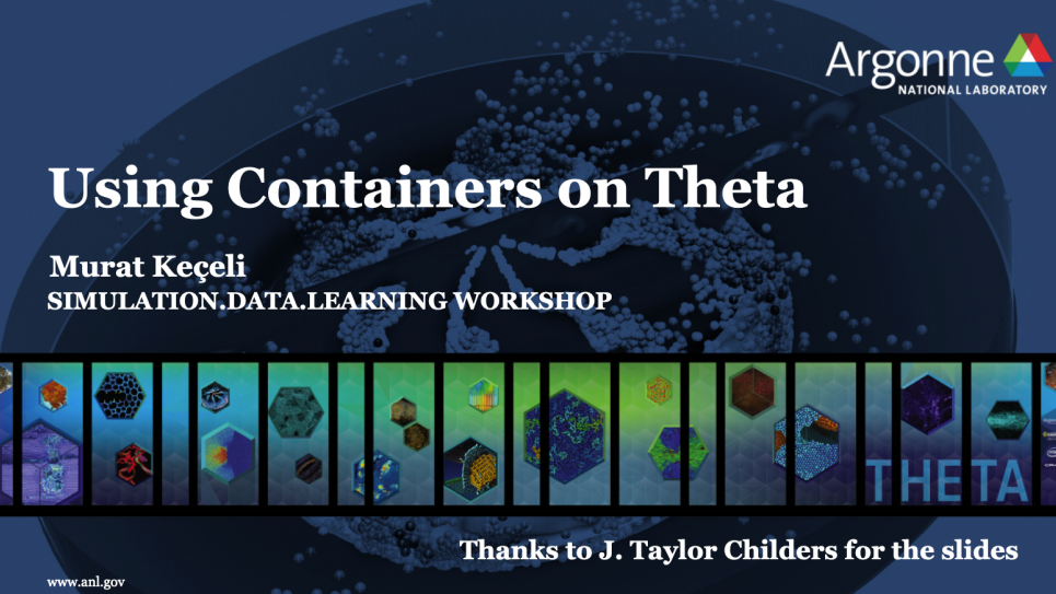Using Containers on Theta