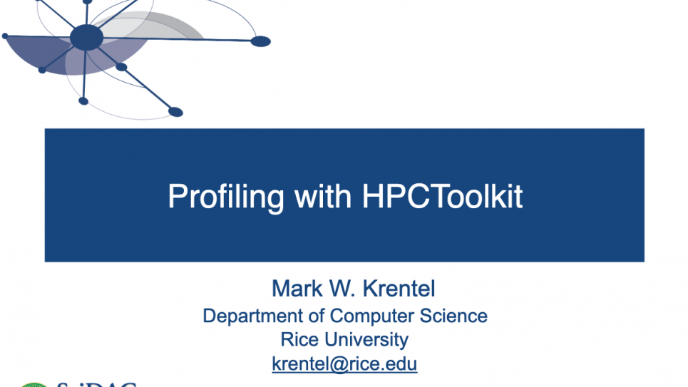 Profiling with HPCToolkit