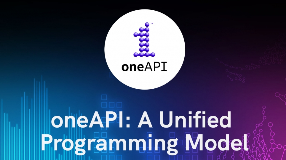 Try oneAPI today!