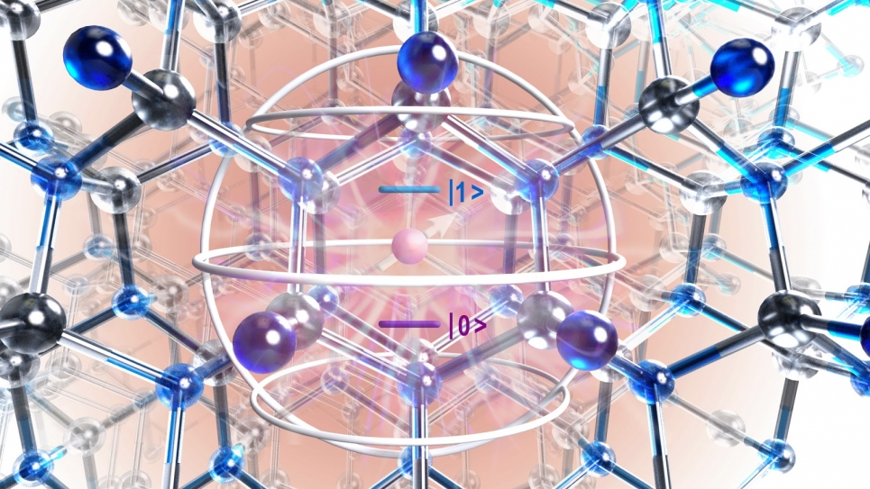Atomic structure of silicon carbide crystal