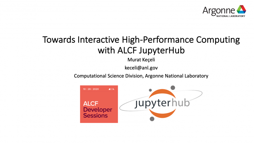 Towards Interactive High-Performance Computing with ALCF JupyterHub