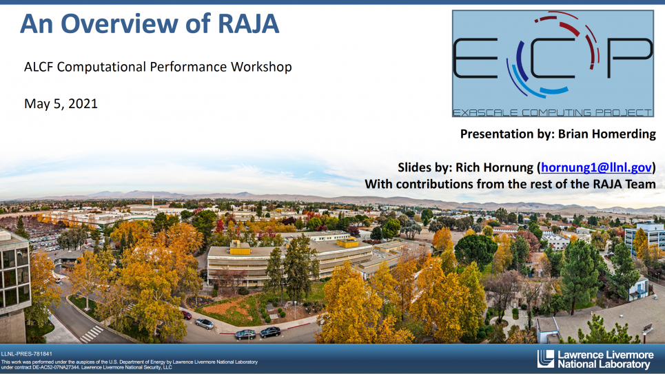 An Overview of RAJA
