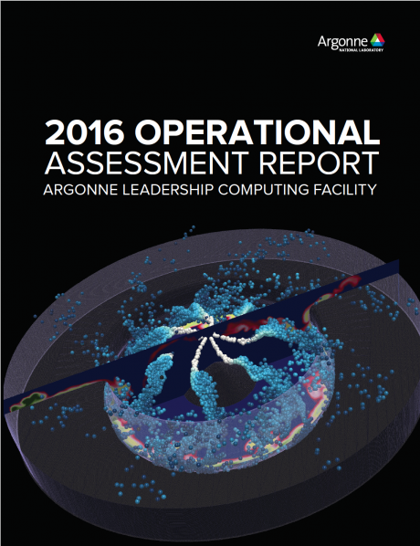 2016 Operational Assessment Report Cover